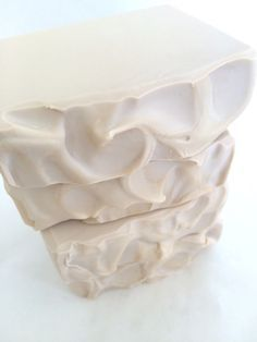 Creamy Coconut Soap Recipe from New England Handmade Soaps. Love their tag line: Use handmade. Your skin deserves it.
