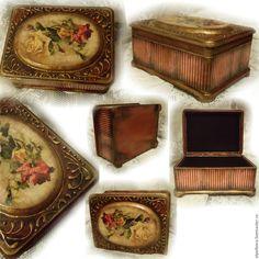 """Купить Шкатулка """"Розы"""" - бордовый, шкатулка, шкатулка для хранения, шкатулка для мелочей, шкатулка для украшений"""