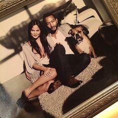 Chrissy Teigen and John Legend Get Their Own Royal Portrait