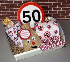 Geschenk Set zum 50. Geburtstag - Alter Sack -