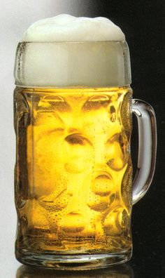 Dimpled Oktoberfest Glass Beer Mug 1 Liter Oktoberfest Decorations, Beer Pint Glasses, Oktoberfest Party, Glass Beer Mugs, Beer Fest, Custom Logo Design, Custom Engraving, Tableware, Blog