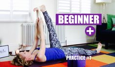 BEGINNER+ YOGA FLOW Open Hamstrings, Hips, Shoulders  // Practice #7