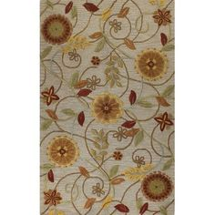 Darby Home Co Bolivar Hand-Tufted Taupe Area Rug Rug Size: 5' X 8'
