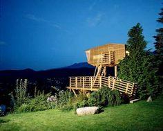 Baumraum | Galerie | Baumhäuser | Pinterest | Zuhause Und Galerien Das Magische Baumhaus Von Baumraum