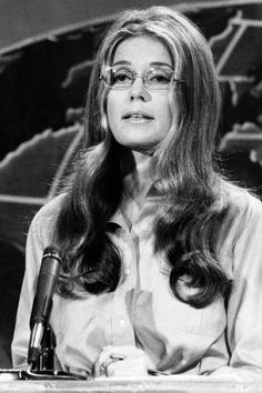 Gloria Steinem Turns See Her Most Empowering Quotes Women Empowerment Quotes, Girl Empowerment, Gloria Steinem Quotes, Geek Chic Glasses, Flip Wilson, Birthday Quotes For Her, Iconic Women, Strong Women, Role Models