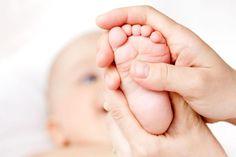 7 partes do corpo para massagear o seu bebê
