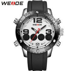 Like and Share if you want this  WEIDE Man's Watch Casual Watches Analog Digital Alarm Stopwatch Display Waterproof Top Luxury Brand Fashion Products For Men     Tag a friend who would love this!     FREE Shipping Worldwide     Buy one here---> https://shoppingafter.com/products/weide-mans-watch-casual-watches-analog-digital-alarm-stopwatch-display-waterproof-top-luxury-brand-fashion-products-for-men/