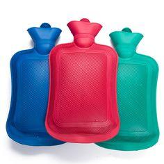 2016 בקבוק מים חמים עבה גומי בצפיפות גבוהה חם תיק יד מים בקבוקי מים התחממות חורף שקיות מים חמים בקבוק