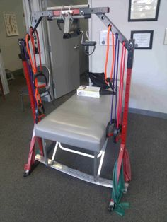 Stuck In Bed Fitness - for those confined to the bed or a wheelchair, this is the perfect exercise equipment to help keep you in shape. stuckinbedfitness.com