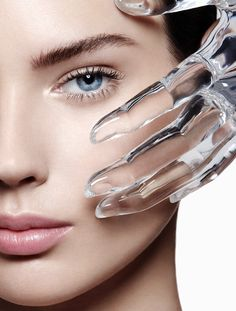 Daily Mail: - Get set for the swelter with a glacial facial! Clean Beauty, Beauty Skin, Beauty Shots, Advertising Photography, Flawless Skin, Natural Cosmetics, Beauty Editorial, Facial Masks, Plastic Surgery