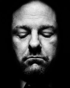 James Gandolfini (1961-2013) - American actor and producer. Photo by Platon