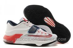 """Find Nike Kevin Durant KD 7 VII """"USA"""" White/Obsidian-University Red For Sale Online online or in Pumaslides. Shop Top Brands and the latest styles Nike Kevin Durant KD 7 VII """"USA"""" White/Obsidian-University Red For Sale Online of at Pumaslides. Cheap Nike Running Shoes, Buy Nike Shoes, Nike Shoes Online, Discount Nike Shoes, New Jordans Shoes, Air Jordans, Cheap Jordans, Zapatos Kd, Discount Nikes"""
