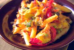 Baked Penne with Roasted Vegetables recipe from Giada De Laurentiis.