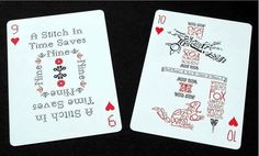 Bauhaus Poker Cards