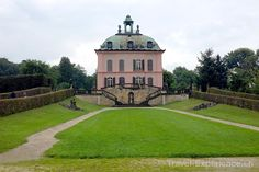 This we're looking at Little Pheasant Castle, an eighteenth-century hunting lodge outside Dresden, fit for… Karl May, New Details, The Outsiders, Hunting, Castle, Dresden Germany, Pheasant, Mansions, Architecture
