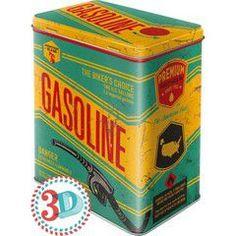 Nostalgic Μεταλλικό κουτί μεγάλο Gasoline