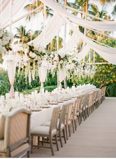 Wedding Ideas : Long Wedding Tables ~ KT Merry Photography, Design: 50Fifty Creative Services