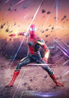 Spiderman - Avengers Infinity War - Majd Khatib