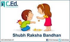 A bond of love & togetherness.  cedoverseas wishes everyone a Happy Raksha Bandhan  #cedoverseas #RakshaBandhan2016