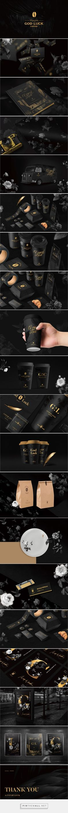 A Cup of Luck Coffee Branding and Packaging by Jem Wong   Fivestar Branding Agency – Design and Branding Agency & Curated Inspiration Gallery