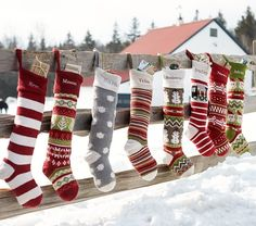 Classic Fair Isle Stocking Collection   Pottery Barn Kids