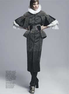 visual optimism; fashion editorials, shows, campaigns & more!: flip side: valerija kelava by chad pitman for vogue australia september 2013