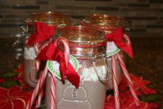 This Snowman Soup recipe uses homemade hot chocolate, and it's out of this world!   #HomemadeHoliday  http://allrecipes.com/Recipe/Hot-Cocoa-Mix-in-a-Jar/?prop31=2