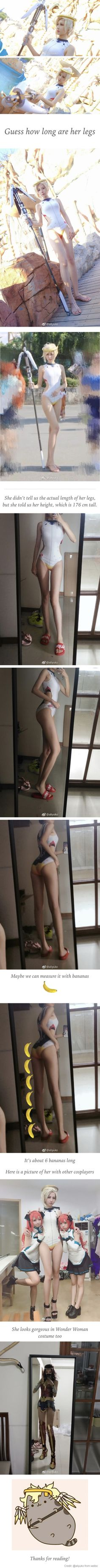 This Chinese Girl May Have The Perfect Body Proportion For Cosplaying Every Character