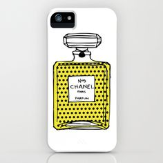 Chanel+No.5+bottle+iPhone+&+iPod+Case+by+Pulp+Studio+-+$35.00