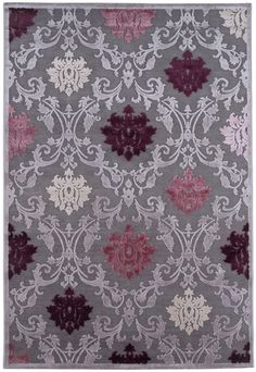 RugStudio presents Jaipur Rugs Fables Gray Machine Woven, Good Quality Area Rug Plum Bedroom, Bedroom Colors, Bedroom Ideas, Master Bedroom, Gothic Bedroom, Bedroom Decor, Bedroom Rugs, Girls Bedroom, Master Suite