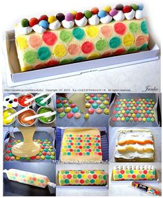 How to cake roll
