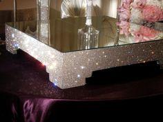 Crystal Cake Stand by POSHWeddingDecor on Etsy, $450.00. i want it i want it i want it!