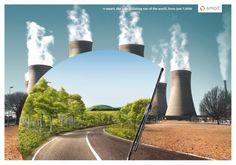 Pollution awareness through art