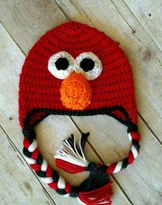 Super cute Elmo hat!