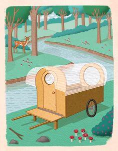Micro Shelters - Hackett Illustration