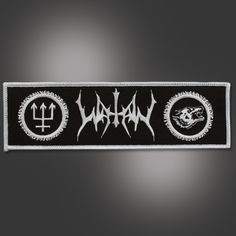 Shop the North American Watain Online Store Spikes, Patches, Vest, American, Music, Metal, Shopping, Black, Tatuajes
