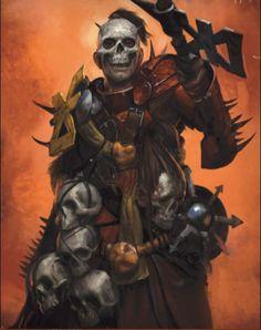 A sworn cultist of the Crimson Skull.