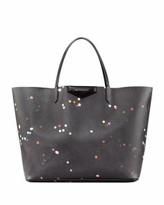 Antigona+Large+Confetti-Print+Shopper+Bag+by+Givenchy+at+Bergdorf+Goodman.