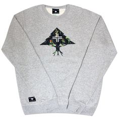 LRG RC ROUNDABOUT CREWNECK SWEATSHIRT ASH HEATHER £44.99  #tshirt #mensfashion #hiphop #fashion #newcollection #designs #london