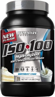 Dymatize ISO 100 Review Birthday Cake Whey Protein Shakes