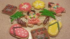 Aloha, galletas hawaianas