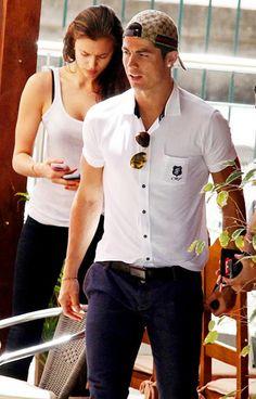Cristiano Ronaldo fashion with girlfriend Irina Shayk