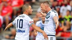 A game in hand, #MelbourneVictory close-in on #SydneyFC. AND they should be making #Troisi an offer he can't refuse.