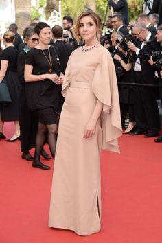 Clotilde Courau au Festival de Cannes