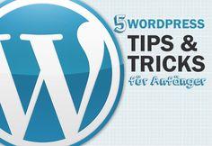 5 Wordpress Tips für anfänger und pros - die organischen Traffic verbessern