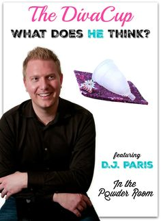 Humorist D.J. Paris reviews The DivaCup from the male perspective. LOL! funny | humor | menstruation humor