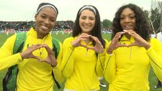 Oregon women sweep podium in 100m and 200m at 2016 Pac-12 Track & Field ...