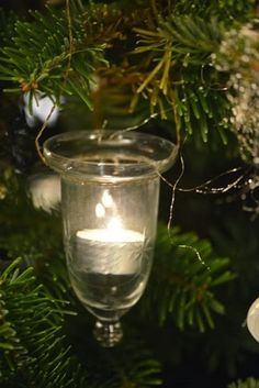 Another way to have candles on your christmastree.