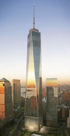 One World Trade Center: Everything is about re-building. That's what Americans do!
