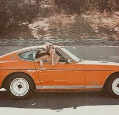 Orange aesthetic vintage retro car - Before After DIY Orange Aesthetic, Summer Aesthetic, Aesthetic Vintage, Aesthetic Photo, Aesthetic Pictures, Aesthetic Collage, Travel Aesthetic, 1970s Aesthetic, Aesthetic Drawings